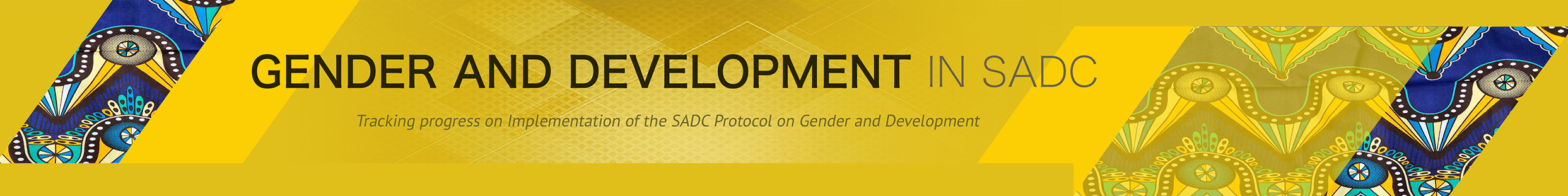Gender and Development Monitor in SADC